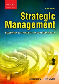 STRATEGIC MANAGEMENT: DEVELOPING SUSTAINABILITY IN SA