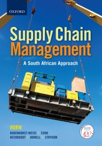 SUPPLY CHAIN MANAGEMENT: A LOGISTICS APPROACH