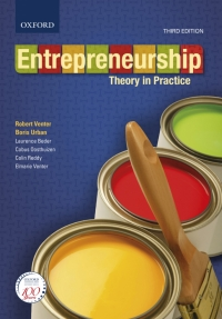 ENTREPRENEURSHIP: THEORY IN PRACTICE