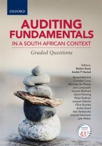 AUDITING FUNDAMENTALS IN A SA CONTEXT: GRADED QUESTIONS