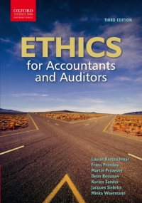 ETHICS FOR ACCOUNTANTS AND AUDITORS