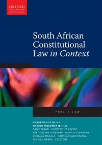 SA CONSTITUTIONAL LAW IN CONTEXT