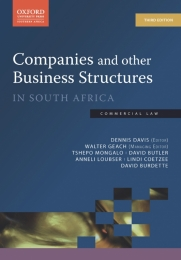 COMPANIES AND OTHER BUSINESS STRUCTURES IN SA
