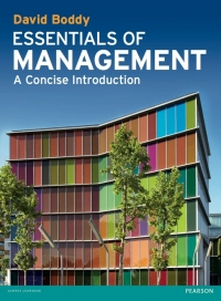 ESSENTIALS OF MANAGEMENT: A CONCISE INTRODUCTION