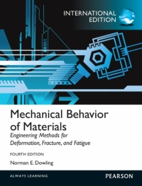 MECHANICAL BEHAVIOR OF MATERIALS (I/E)