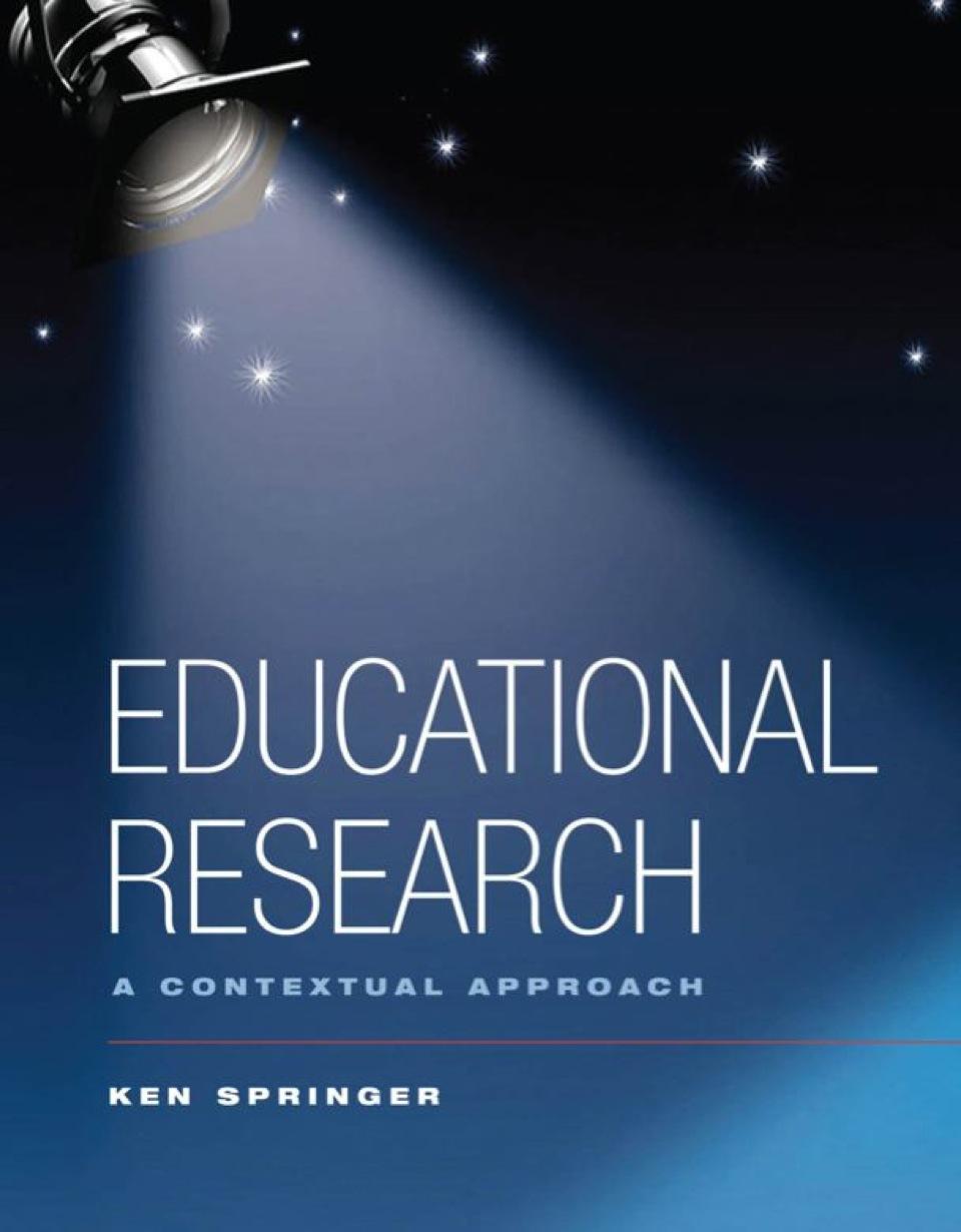 Ebooks van schaik educational research a contextual approach fandeluxe Images