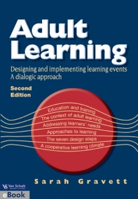 ADULT LEARNING: DESIGNING AND IMPLEMENTING LEARNING EVENTS  A DIALOGIC APPROACH