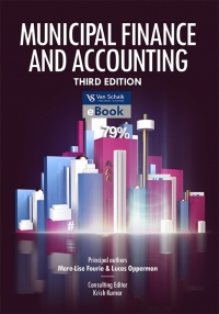 MUNICIPAL FINANCE AND ACCOUNTING