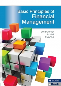 BASIC PRINCIPLES OF FINANCIAL MANAGEMENT