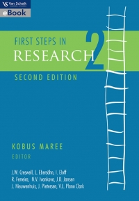 FIRST STEPS IN RESEARCH