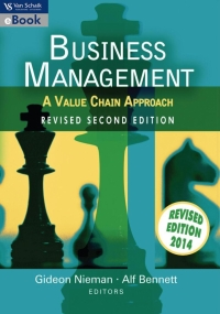 BUSINESS MANAGEMENT: A VALUE CHAIN APPROACH