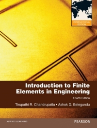 INTRODUCTION TO FINITE ELEMENTS IN ENGINEERING (PNIE)