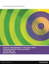 LITERACY DEVELOPMENT IN THE EARLY YEARS: HELPING CHILDREN READ AND WRITE (PNIE)