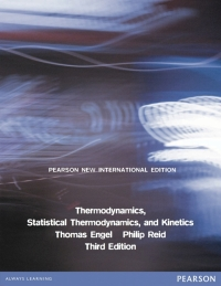 THERMODYNAMICS STATISTICAL THERMODYNAMICS AND KINETICS (PNIE)