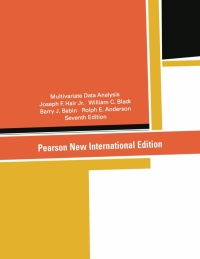 MULTIVARIATE DATA ANALYSIS (PNIE)