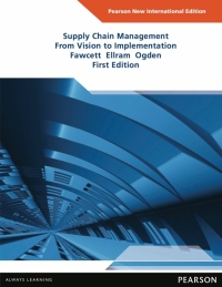 SUPPLY CHAIN MANAGEMENT: FROM VISION TO IMPLEMENTATION (PNIE)