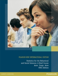 STATISTICS FOR THE BEHAVIORAL AND SOCIAL SCIENCES: A BRIEF COURSE (PNIE)