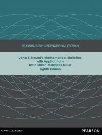 JOHN E FREUNDS MATHEMATICAL STATISTICS WITH APPLICATIONS (PNIE)