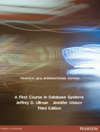 FIRST COURSE IN DATABASE SYSTEMS (PNIE)