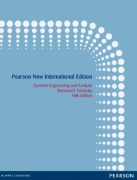 SYSTEMS ENGINEERING AND ANALYSIS (PNIE)