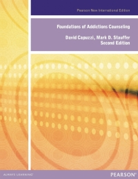 FOUNDATIONS OF ADDICTION COUNSELING (PNIE)