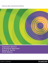 CUSTOMER SERVICE: A PRACTICAL APPROACH (PNIE)