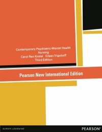 CONTEMPORARY PSYCHIATRIC MENTAL HEALTH NURSING