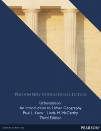 URBANIZATION: AN INTRODUCTION TO URBAN GEOGRAPHY (PNIE)