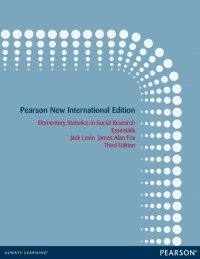 ELEMENTARY STATISTICS IN SOCIAL RESEARCH: ESSENTIALS (PNIE)