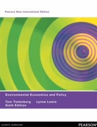 ENVIRONMENTAL ECONOMICS AND POLICY (PNIE)