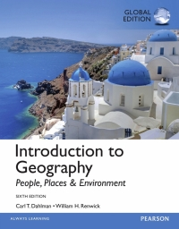 INTRODUCTION TO GEOGRAPHY: PEOPLE PLACES AND ENVIRONMENT