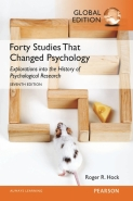 40 STUDIES THAT CHANGED PSYCHOLOGY