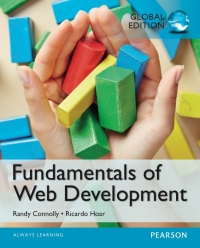 FUNDAMENTALS OF WEB DEVELOPMENT (GLOBAL EDITION)
