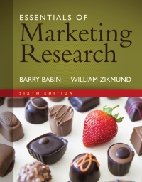 ESSENTIALS OF MARKETING RESEARCH: CONCEPTS AND SKILLS FOR A DIVERSE SOCIETY