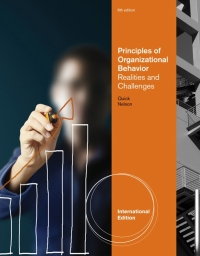 PRINCIPLES OF ORGANIZATIONAL BEHAVIOR: REALITIES AND CHALLENGES