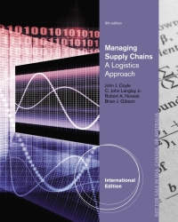 MANAGING SUPPLY CHAINS A LOGISTICS APPROACH