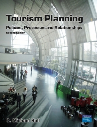 TOURISM PLANNING: POLICIES PROCESSES AND RELATIONSHIPS