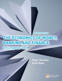 ECONOMICS OF MONEY BANKING AND FINANCE