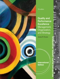 QUALITY AND PERFORMANCE EXCELLANCE: MANAGEMENT ORGANIZATION AND STRATEGY