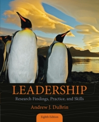 LEADERSHIP: RESEARCH FINDINGS PRACTICE AND SKILLS