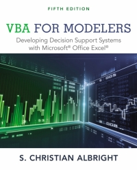 VBA FOR MODELERS: DEVELOPING DECISION SUPPORT SYSTEMS WITH MICROSOFT OFFICE EXPRESS