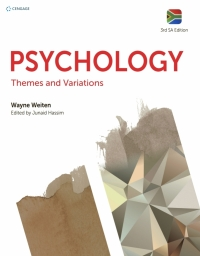 PSYCHOLOGY: THEMES AND VARIATIONS (SA EDITION)
