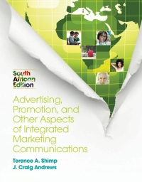ADVERTISING PROMOTION AND OTHER ASPECTS OF INTEGRATED MARKETING COMMUNICATIONS (SA EDITION)