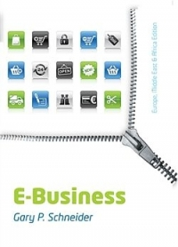 E BUSINESS (CUSTOM EDITION) (UNISA 2018)