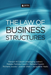 LAW OF BUSINESS STRUCTURES