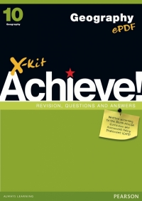 X KIT ACHIEVE! GR 10 GEOGRAPHY (LEARNERS BOOK)