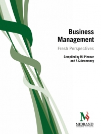 BUSINESS MANAGEMENT: FRESH PERSPECTIVES