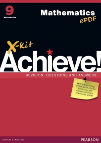 X KIT ACHIEVE MATHEMATICS GR 9