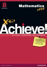 X KIT ACHIEVE MATHEMATICS GR 8