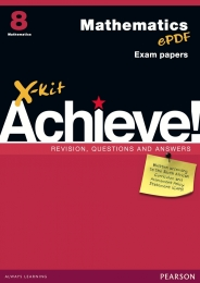 X KIT ACHIEVE MATHEMATICS GR 8 (EXAM GUIDE)